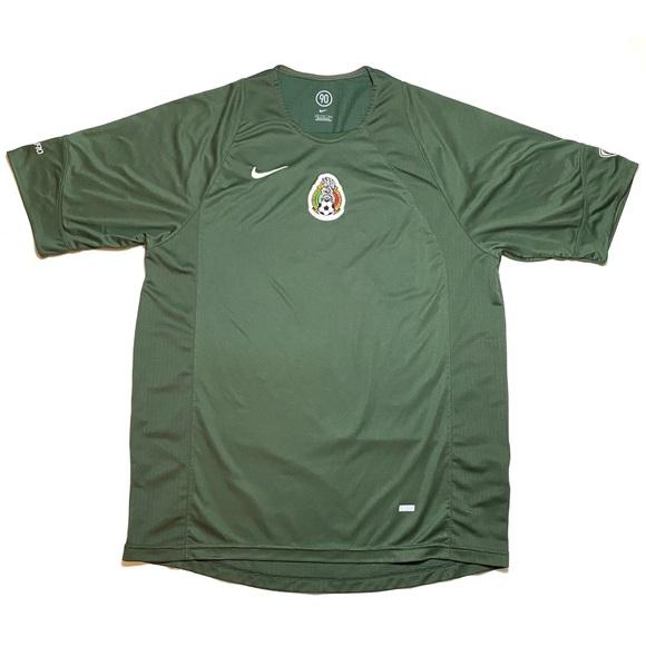 Nike Other - Nike Mexico Futbol Federacion Jersey Medium Green